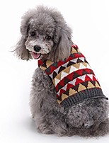 cheap -pet clothes, puppy sweater knitted dog shirt cute doggie apparel (multicolour, m)