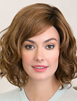 cheap -Synthetic Wig Curly Asymmetrical Wig Short Brown Blonde Synthetic Hair Women's Fashionable Design Exquisite Comfy Blonde Brown