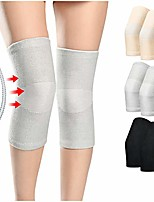 cheap -a pair of knee brace compression sleeve leg support wraps with side stabilizers for women men workout weightlifting running arthritis knee pain meniscus tear relief - gray