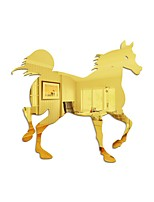 cheap -Galloping Horse / Animals Wall Stickers Mirror Wall Stickers Decorative Wall Stickers, Acrylic Home Decoration Wall Decal Wall Decoration 1pc