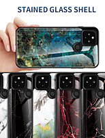 cheap -Case For Google Google Pixel 4a / Google Pixel 4 Shockproof Back Cover Marble TPU