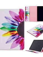 cheap -Case For Apple iPad Pro (2020) 11'' iPad 7 (2019) 10.2'' iPad Air 3 (2019) 10.5'' Wallet Card Holder with Stand Full Body Cases Sun Flower PU Leather TPU for iPad 5 (2017) 9.7'' iPad 6 (2018) 9.7