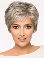 cheap -Synthetic Wig Curly Asymmetrical Wig Blonde Short Light Brown Blonde Synthetic Hair Women's Fashionable Design Exquisite Blonde Light Brown