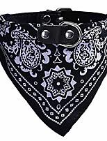 cheap -pet neckerchief, adjustable puppy collar dog bandana scarf doggy necklace (m, black)