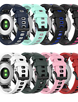cheap -Silicone Watchband For Garmin Fenix 6S/Fenix 6S Pro Watch Quick Release Easy fit Wrist Band Strap For Fenix 5S/Fenix 5S Plus 20mm