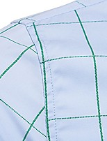 cheap -long sleeve shirt-cotton plaid shirt-casual long sleeve shirt-khaki-l