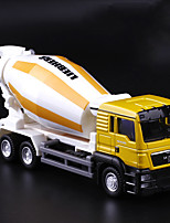 cheap -1:64 Alloy Blender Tow Truck Toy Truck Construction Vehicle Pull Back Vehicle Simulation Music & Light All Adults Kids Car Toys