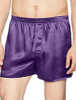 cheap -mens classic silk boxers (x-large, spruce)