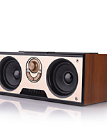 cheap -Portable Outdoor Subwoofer Wooden Wireless Bluetooth Speaker Receipt Broadcast Small Audio Support TF MP3 Player and FM Radio