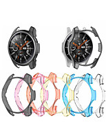 cheap -Cases For Samsung Galaxy Watch 46mm / Samsung Galaxy Watch 42mm Plastic Compatibility Samsung Galaxy