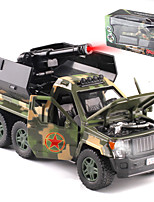 cheap -Alloy SUV Missile Truck Toy Car Pull Back Vehicle Simulation Music & Light All Adults Kids Car Toys