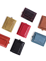 cheap -Travel Wallet Document Organizer Card Holder Anti-theft RFID Blocking Everyday Use Security Genuine Leather Classic Vintage Gift For Men's Women's 8*9.5*2 cm