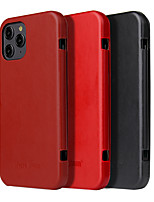 cheap -Case For iPhone 11 Wallet / Shockproof / Dustproof Full Body Cases Solid Colored Genuine Le For Case iphone 11 Pro/11 Pro Max/SE 2020/X/Xs/Xs MAX/XR