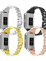 cheap -Watch Band for Fitbit ionic Fitbit Sport Band Stainless Steel Wrist Strap