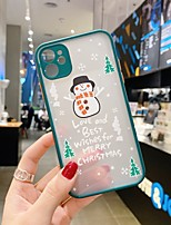 cheap -Case For Apple iPhone 11 / iPhone 11 Pro / iPhone 11 Pro Max Shockproof Back Cover Christmas TPU
