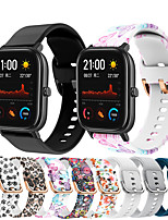 cheap -Watch Band for Amazfit  GTR  42mm / Amazfit Pace / Amazfit Bip Amazfit Sport Band Silicone Wrist Strap
