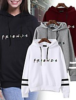 cheap -Inspired by Friends Cosplay Hoodie Polyester / Cotton Blend Print Printing Hoodie For Men's / Women's