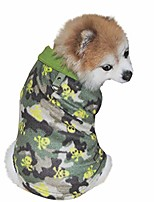 cheap -christmas dog vest for dogs cats christmas tree print fleece lapel dog pullover warm pets clothes winter pullover dog clothes for small dogs puppy kitten (s, green)