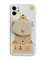 cheap -Case For iPhone 11 with Stand IMD Pattern Back Cover Dog Animal Cartoon TPU Case For iPhone 11 Pro Max / SE2020 / XS Max / XR XS 7 / 8 7 / 8 plus