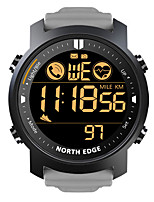 cheap -NORTH EDGE LAKER Men's Smartwatch Bluetooth Waterproof Heart Rate Monitor Calories Burned Camera Information Stopwatch Pedometer Call Reminder Alarm Clock Community Share