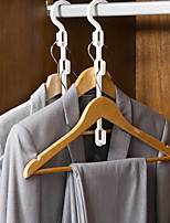 cheap -Multifunctional Hanger Storage Hook Dormitory With Student Hanging Clothes Rack Home Wardrobe Support Finishing