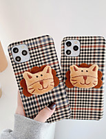 cheap -Case For iPhone 11 Shockproof Back Cover Animal / Cartoon TPU For Case 7/8/7P/8P/X/XS/XS MAX/SE 2020/11 PRO/11PRO MAX