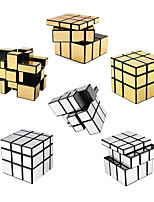 cheap -Speed Cube Set 6 pcs Magic Cube IQ Cube 3*3*3 Speedcubing Bundle 3D Puzzle Cube Stress Reliever Puzzle Cube Stickerless Smooth Office Desk Toys Mirror Kid's Adults Toy Gift