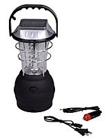 cheap -solar lantern 5 mode hand crank dynamo rechargeable camping lantern 36 led emergency light ultra bright car charge camping gear for hiking emergency