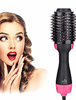 cheap -Salon One Step Hair Dryer and Volumizer,  3 in 1 Hot Air Brush Hair Dryer Brush Anti-scald Negative Ion Hair Straightener Brush Comb Curler Styler for All Hair Types