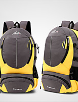 cheap -20 L Hiking Backpack Breathability Outdoor Hiking Camping Polyester Black Yellow Red