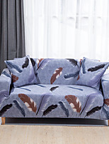 cheap -Feather Print Sofa Cover Couch Cover Furniture Protector Soft Stretch Sofa Slipcover Spandex Jacquard Fabric Super Fit for 1~4 Cushion Couch and L Shape Sofa,Easy to Install