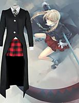 cheap -Inspired by Soul Eater Maka Albarn Anime Cosplay Costumes Japanese Cosplay Suits Coat Vest Shirt For Men's Women's / Skirt / Tie