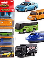 cheap -Alloy Truck Bus Toy Truck Construction Vehicle Pull Back Vehicle Simulation Music & Light All Adults Kids Car Toys