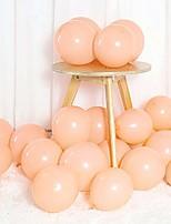 cheap -pastel orange balloons 12 inch 50pcs latex party balloons baby shower helium balloons blue birthday balloon