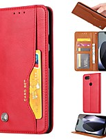 cheap -Case For Google Pixel 4 Wallet Card Holder with Stand Full Body Cases Solid Colored PU Leather Google Pixel 3A XL 3 XL