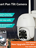 cheap -1080P PTZ Wifi IP Camera Outdoor AI Human Detect Wireless Camera H.265 P2P ONVIF Audio 2MP Security IP Camera
