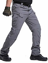 cheap -Hiking Pants Trousers Outdoor Breathable Quick Dry Sweat-wicking Wear Resistance Cargo Pants Bottoms Army Green X7 [Quick Drying Elasticity] Khaki X7 [Spring and Autumn models] Khaki X7[Quick Drying