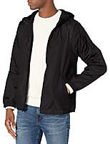 cheap -men's jacket, black black, large