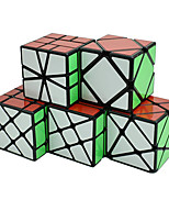 cheap -Speed Cube Set 5 pcs Magic Cube IQ Cube 2*2*3 Speedcubing Bundle Stress Reliever Puzzle Cube Stickerless Smooth Office Desk Toys Windmill Irregular Skew Kid's Adults Toy Gift