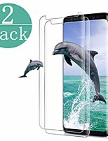 cheap -[2 - pack] compatible samsung galaxy tempered glass s9 screen protector, 9h hardness/anti-fingerprint/ultra-clear/bubble free screen protector compatible samsung galaxy s9