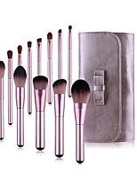 cheap -ZNYBEAUTY 12 Pcs makeup brush lilac makeup brush set beauty tools