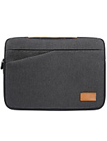 cheap -13.3 Inch Laptop / 14 Inch Laptop / 15.6 Inch Laptop Sleeve / Shoulder Messenger Bag / Briefcase Handbags Polyester Solid Colored / Plain for Men for Women for Business Office Waterpoof Shock Proof