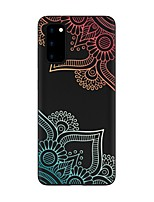 cheap -Case For Samsung Galaxy S20 FE Frosted Pattern Back Cover Flower TPU Soft Galaxy S20 Plus Note 20 Ultra Note 10 Plus A11 A21S A31 A41 A51 A71 A81 A91