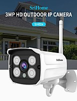 cheap -Sricam SH024 HD 3MP 1296P Wireless IP Camera Onvif Outdoor WaterProof P2P Network Motion Detection Bullet Surveillance Cameras