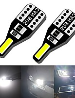 cheap -10PCS T10 Led W5W Universal Car interior lights Canbus 7020 Reading lights License plate lights Parking lights  car accessory 12v