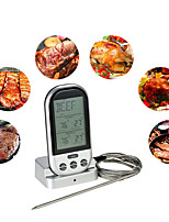 cheap -Wireless Digital LCD Display BBQ Thermometer Kitchen Barbecue Digital Probe Thermometer Meat BBQ Temperature Tool