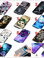 cheap -Case For Samsung Galaxy S9 / S9 Plus / S8 Plus Wallet / Card Holder / Shockproof Full Body Cases Animal / Cartoon / Flower PU Leather / TPU