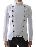 cheap -(njk4) mens double breasted slim fit jacket blazer white us xl(tag size 3xl)