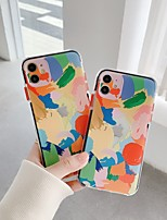 cheap -Case For iPhone 11 Pattern Back Cover Cartoon TPU Case For iPhone 11 Pro Max / SE2020 / XS Max / XR XS 7 / 8 7 / 8 plus