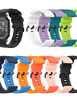 cheap -Soft Silicone Watch Strap For Xiaomi Huami Amazfit Neo Smart Watch Replacement Wristband